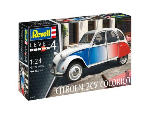 "Revell Citroen 2 CV ""Cocorico"" 1:24 (7653)"