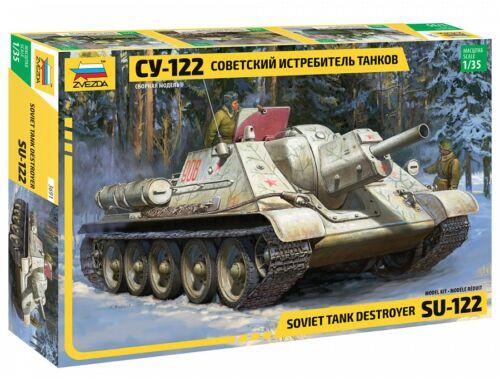 Zvezda SU-122 Soviet Tank Destroyer 1:35 (3691)