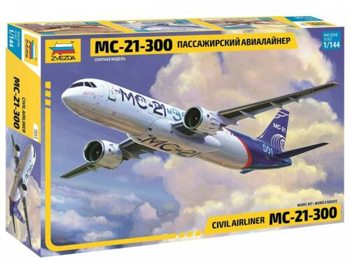 Zvezda MC-21-300 Civil Airliners 1/144 (7033)