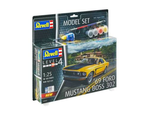 Revell Model Set '69 Ford Mustang Boss 302 1:25 (67025)