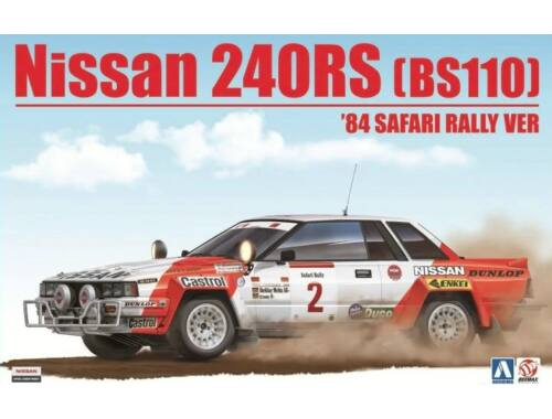 Nissan 240RS BS110 '84 Safari Rally Ver. 1:24 (24014)