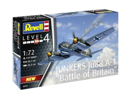 Revell Junkers Ju88 A-1 Battle of Britain 1:72 (4972)
