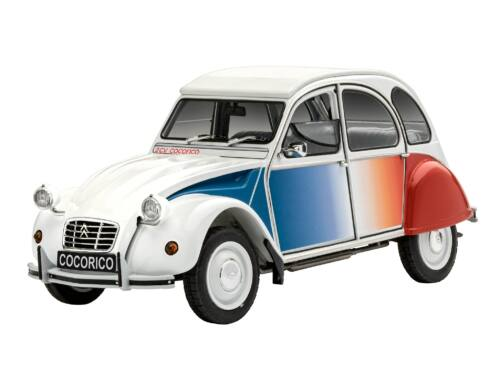 "Revell Model Set Citroen 2 CV ""Coccorico"" 1:24 (67653)"