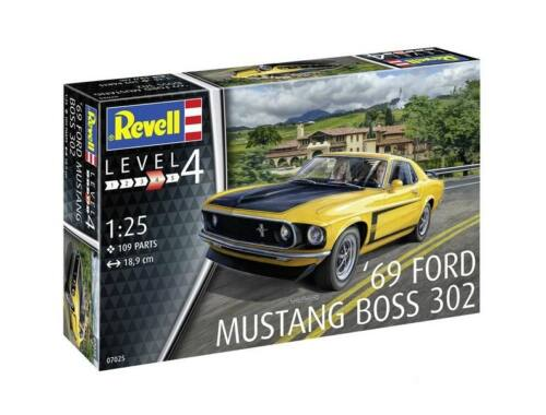 Revell 2013 '69 Ford Mustang Boss 302 1:25 (7652)