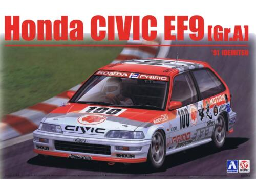 Honda Civic EF9 Group A '91 Idenitsu 1:24 (24018)
