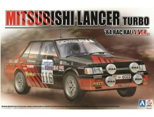 Mitsubishi Lancer Turbo '84 RAC Rally Ver. 1:24 (24022)