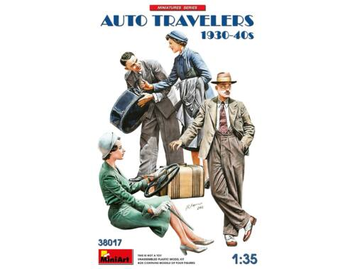 MiniArt Auto Travelers 1930-40s 1:35 (38017)
