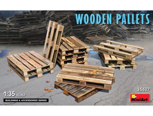 MiniArt Wooden Pallets 1:35 (35627)