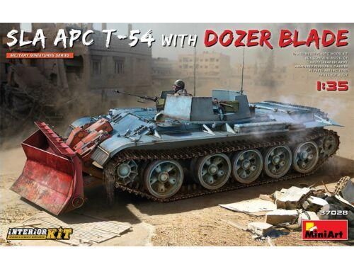 MiniArt SLA APC T-54 w/Dozer Blade. Interior Kit 1:35 (37028)