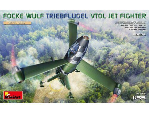 MiniArt Focke Wulf Triebflugel (VTOL) Jet Fighter 1:35 (40009)