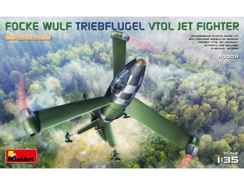 MiniArt Focke Wulf Triebflugel (VTOL) Jet Fighter 1:35 (40009)