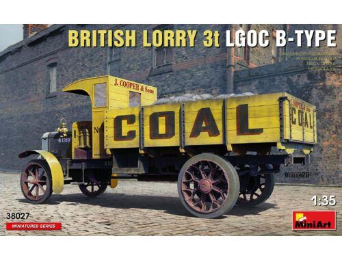 MiniArt British Lorry LGOC 3t B-Type 1:35 (38027)