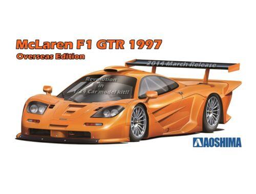 Aoshima McLAREN F1 GTR 1997 1:24 (00749)