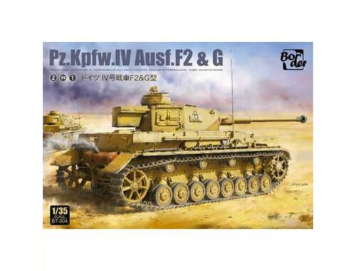 Border Model Pz.Kpfw.IV Ausf. F2