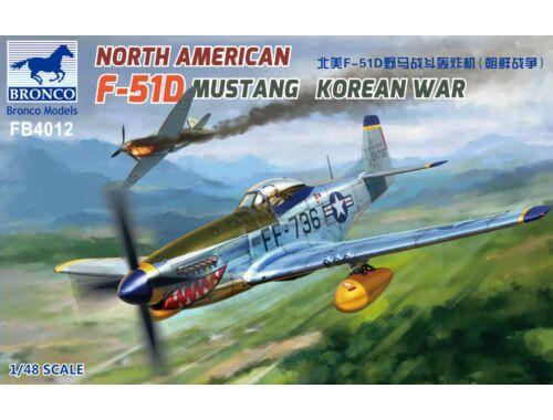 Bronco Models North American F-51D Mustang Korean War 1:48 (FB4012)