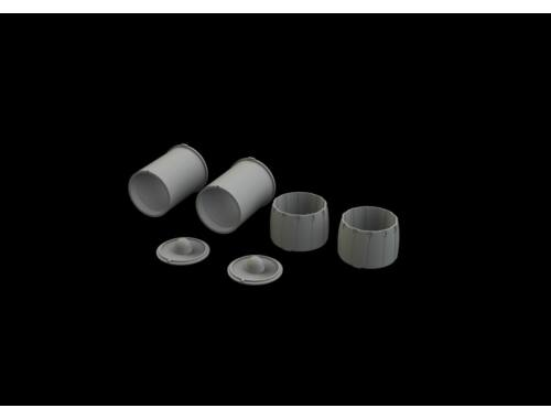 Eduard F-14D exhaust nozzles for Tamiya 1:48 (648560)