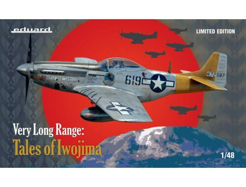 Eduard VERY LONG RANGE: Tales of Iwojima, Limited Edition 1:48 (11142)