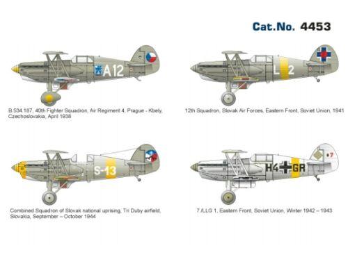 Eduard Avia B.534 IV. serie, Super44 1:144 (4453)