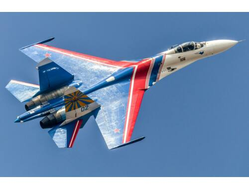 Hobby Boss Su-27 Flanker B - Russian Knights Aerobatic Team 1:48 (81776)