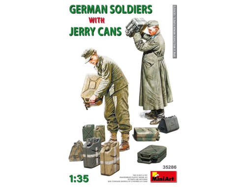 MiniArt German Soldiers w/Jerry Cans 1:35 (35286)