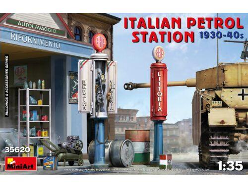 MiniArt Italian Petrol Station 1930-40s 1:35 (35620)