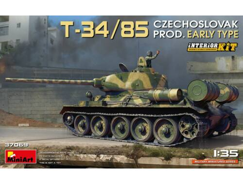 MiniArt T-34/85 Czechoslovak Prod. Early Type. Interior Kit 1:35 (37069)
