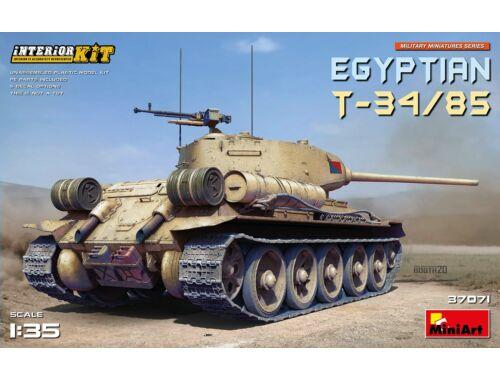 MiniArt Egyptian T-34/85. Interior Kit 1:35 (37071)