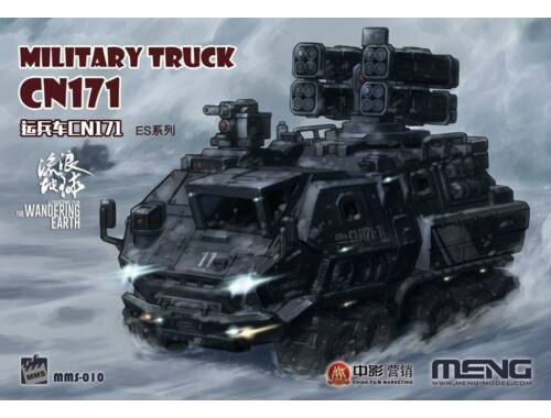 Meng The Wandering Earth Military Truck CN171 (CARTOON MODEL) (MMS-010)