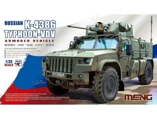 Meng Russian K-4386 Typhoon-VDV Armored Vehicle 1:35 (VS-014)