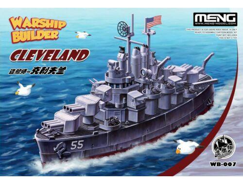 Meng Warship Builder Cleveland (WB-007)