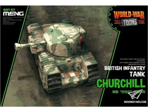 Meng British Infantry Tank Churchill (CARTOON MODEL) (WWT-017)