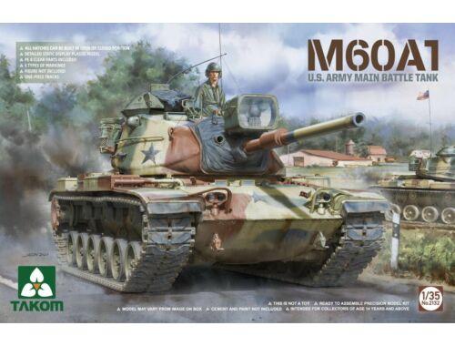 Takom M60A1 U.S .ARMY MAIN BATTLE TANK 1:35 (2132)