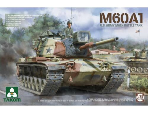 Takom M60A1 U.S .ARMY MAIN BATTLE TANK 1:35 (2132)