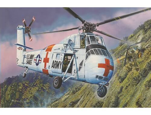 Trumpeter CH-34 US ARMY Rescue - Re-Edition 1:48 (2883)