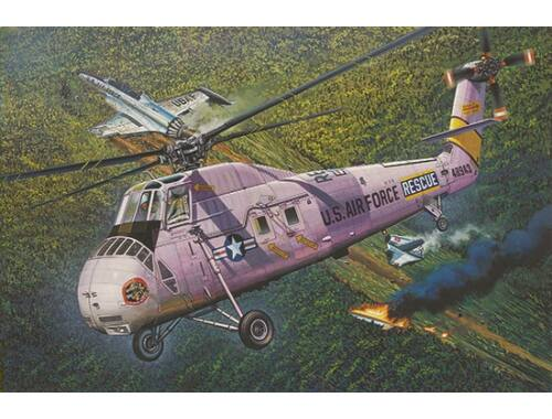 Trumpeter HH-34J USAF Combat Rescue - Re-Edition 1:48 (2884)