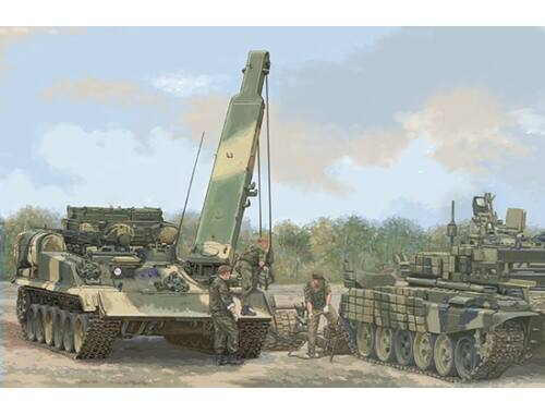 Trumpeter Russian BREM-1M Armoured Recovery Vehicle 1:35 (9554)