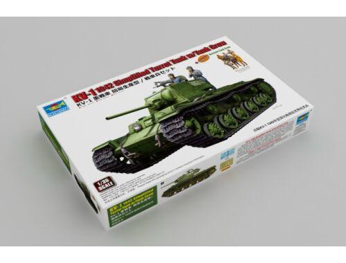 Trumpeter KV-1 1942 Simplified Turret Tank w/Tank Crew 1:35 (9597)