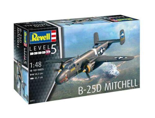 Revell B-25D Mitchell 1:48 4977)