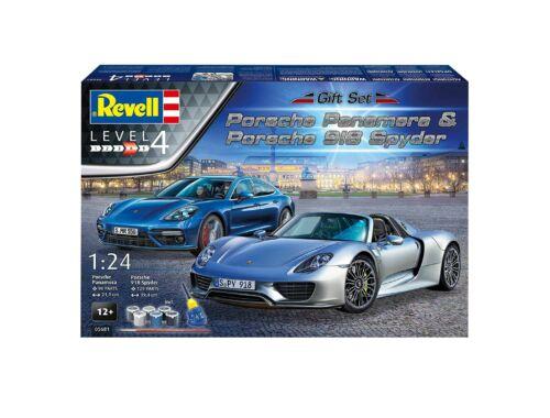 Revell Gift Set Porsche Panamera 918 Spyder 1:24 (5681)