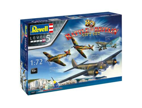 Revell Gift Set 80th anniversary Battle of Britain 1:72 (5691)