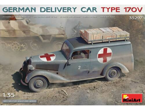 MiniArt German Delivery Car Type 170V 1:35 (35297)