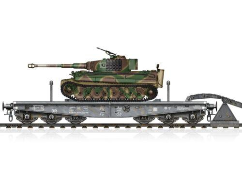 Hobby Boss Schwere Plattformwagen Type SSyms 80 Sd.Kfz181 Tiger I (Mid) 1:72 (82934)