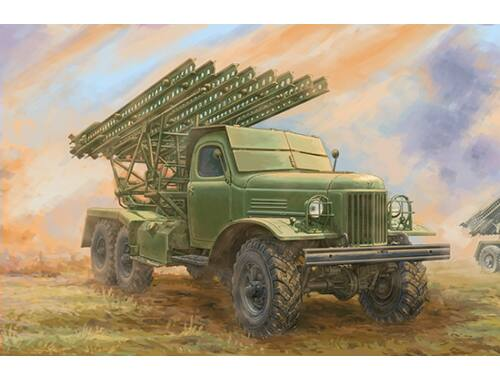 Trumpeter Soviet 2B7 Multiple Rocket Launcher BM-13 NM 1:35 (1075)