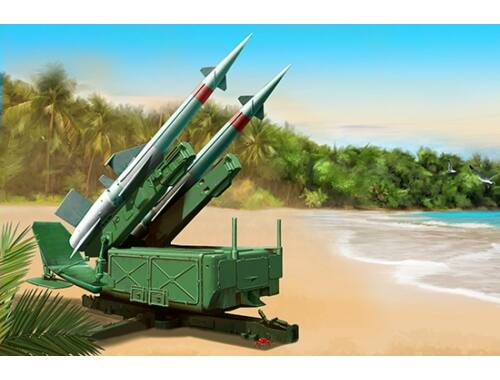 Trumpeter Soviet 5P71 Launcher with 5V27 Missile Pechora (SA-3B Goa) Rounds Loaded 1:35 (2353)