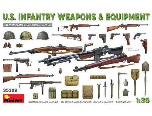 MiniArt U.S. Infantry Weapons