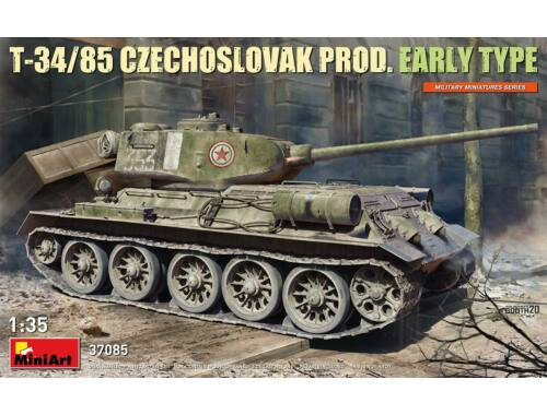 MiniArt T-34/85 Czechoslovak Prod. Early Type 1:35 (37085)