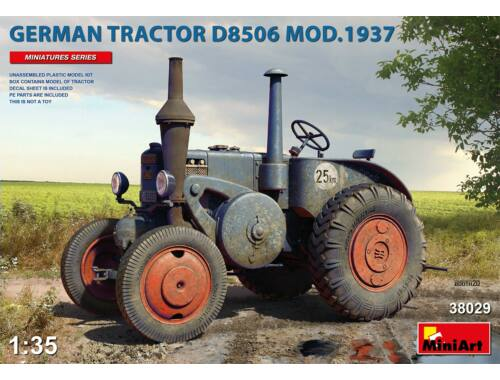 MiniArt German Tractor D8506 Mod. 1937 1:35 (38029)