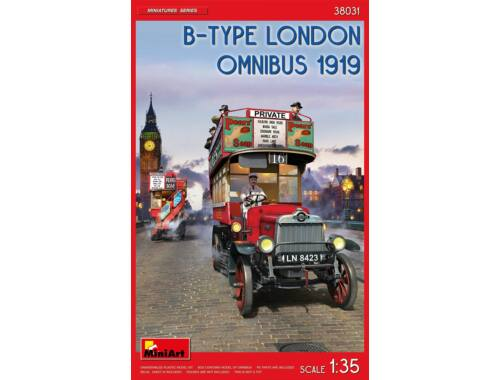 MiniArt B-Type London Omnibus (1919) 1:35 (38031)