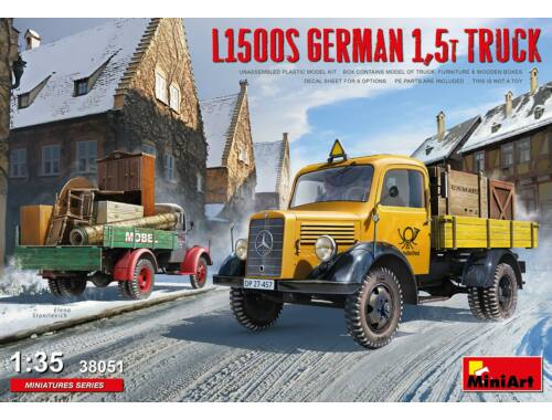 MiniArt L1500S German 1,5t Truck 1:35 (38051)