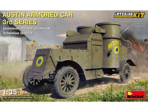 MiniArt Austin Armored Car 3rd Series Interior Kit 1:35 (39005)